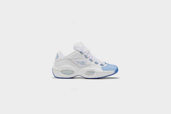 Reebok Question Low (White/Fluid Blue/Reebok Ice)