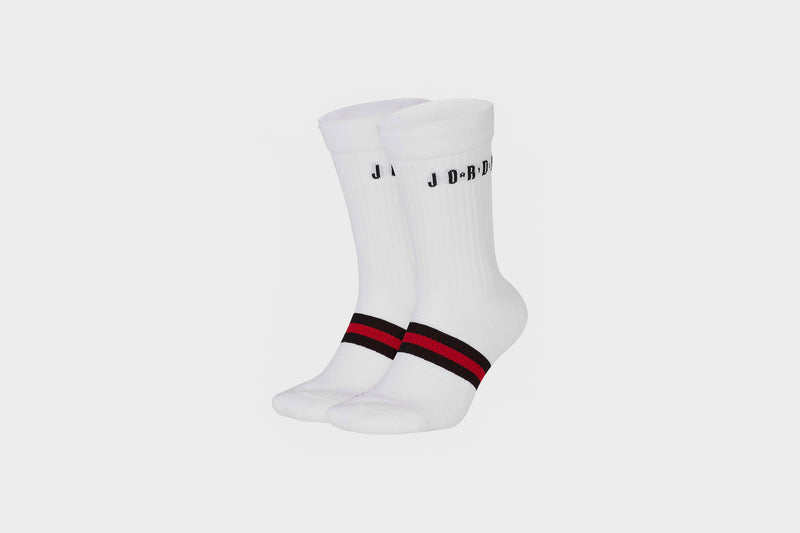 Jordan Legacy Crew (White/Black/Red)