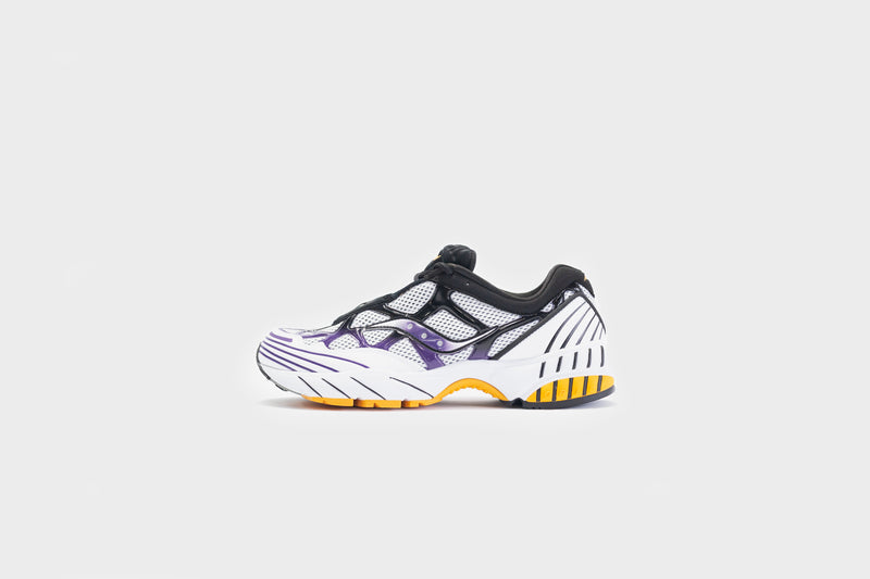 Saucony Grid Web (White/Purple/Yellow)