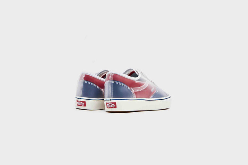 Vans Comfycush Slip-Skool (Canvas-True Navy/Red)
