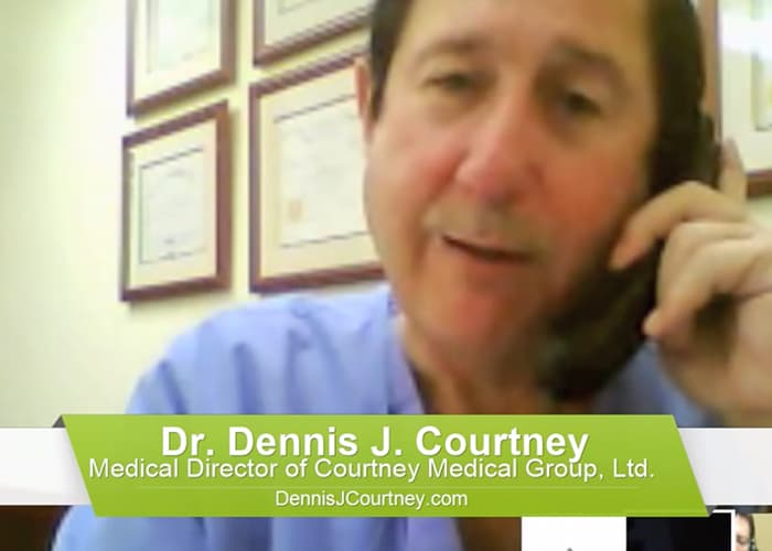 Dr. Dennis Courtney on Ozone Therapy