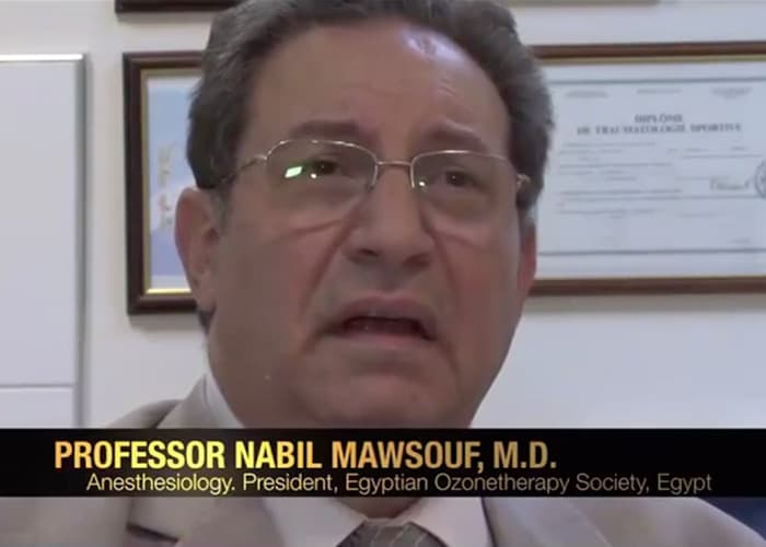 Professor Nabil Mawsouf M.D. speaks about the HOCATT.