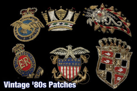 Vintage 80's Patches