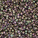 DBV380- 11/0 Matte Metallic Green/Pink Iris Delica Beads-General Bead