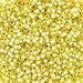 DBV623- 11/0 Silver Lined Pale Yellow Delica Beads-General Bead