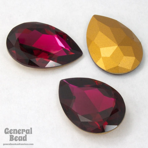 4327 20mm x 30mm Ruby Pear Doublet