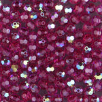 Swarovski 5000 4mm Fuchsia AB Faceted Bead