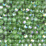 Swarovski 5000 Peridot AB Faceted Bead