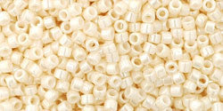AQV123 Opaque Luster Light Beige Toho Treasure-General Bead