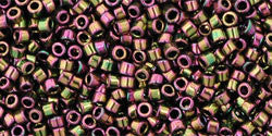 AQV509 Higher-Metallic Purple/Green Iris Toho Treasure-General Bead