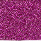 DBV422- 11/0 Galvanized Magenta Delica Beads-General Bead