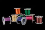 "Artistic Wire. ""Buy-The-Dozen"" 22 Gauge Round Wire Assorted Color Mix (1 Pack, 3 Pack)"