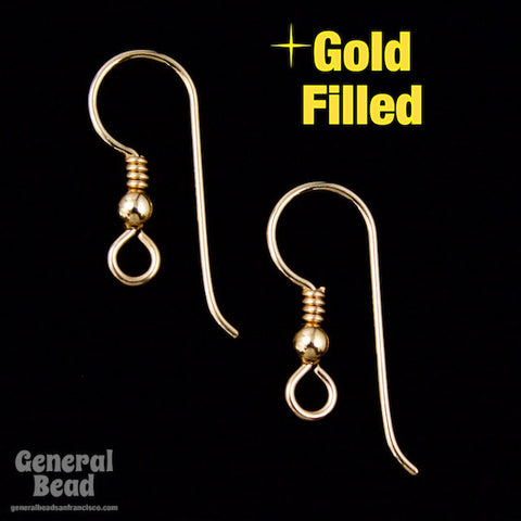 20mm Gold Filled French Ear Wire