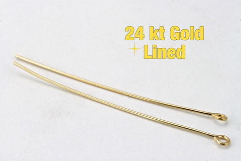 "1.5"" 22 Gauge Gold Filled Eye Pin #BGB013-General Bead"