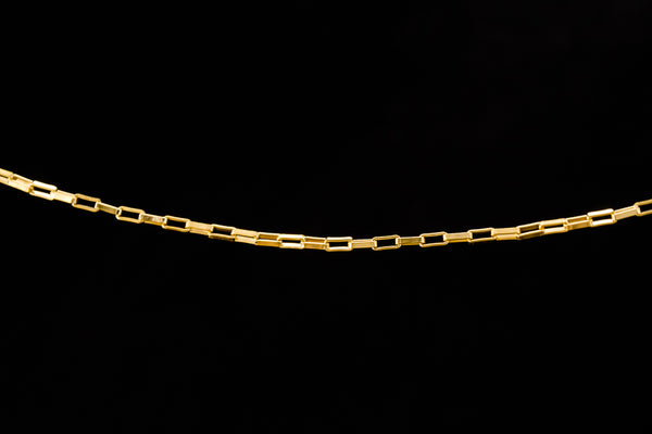 1mm 14 Karat Gold Filled Drawn Box Chain Chain #BGQ089