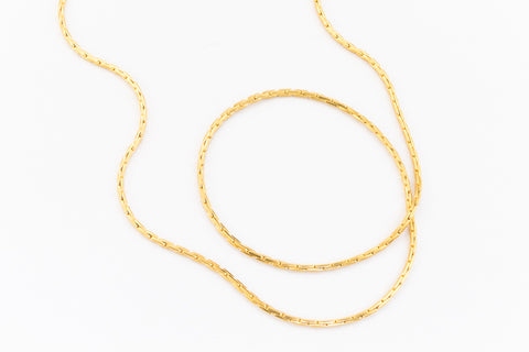 0.65mm 14 Karat Gold Filled Beading Chain #BGZ089