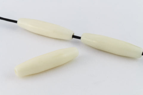 1 1/2 Inch White Bone Hair Pipe #BNH020