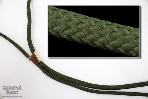 "36"" Hunter Green Nylon Bolo Cord"