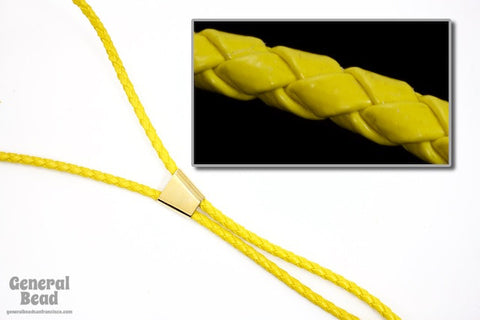 "36"" Yellow Bolo Cord-General Bead"
