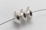 10mm Sterling Silver Saucer Bead #BSA057