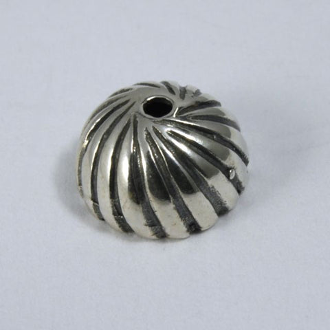 Sterling Silver 8mm Bead Cap-General Bead
