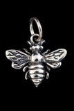 12mm Sterling Silver Honey Bee Charm #BSC043