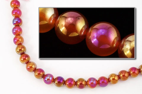 Crystal Iris//AB Acrylic Pearl Style Beads 12mm 72 pieces faux//plastic