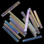 20mm Crystal Iris Bugle (10 Gm, 40 Gm, 1/2 Kilo) #CBI015-General Bead