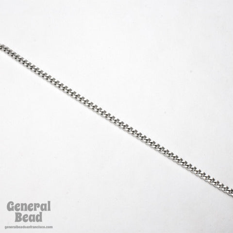 Stainless Steel 5mm x 3.25mm Hammered Curb Chain CCA011-General Bead
