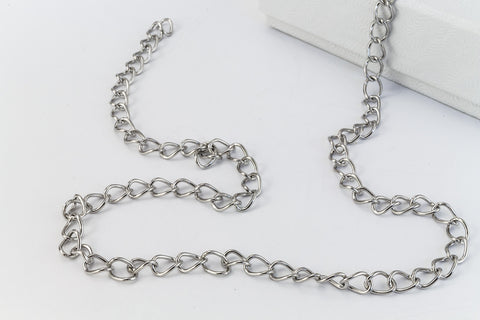 Stainless Steel 3mm x 4mm Cable Chain CCA019-General Bead