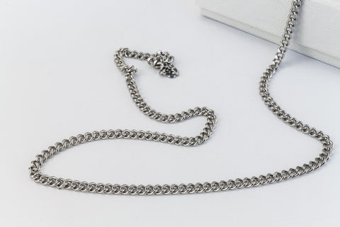 Stainless Steel 2mm Petite Cable Chain CCA020-General Bead