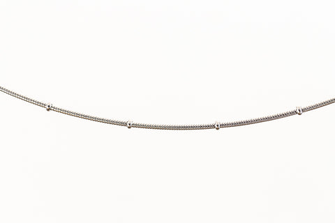 1.2mm Stainless Steel Satellite Snake Chain CC121