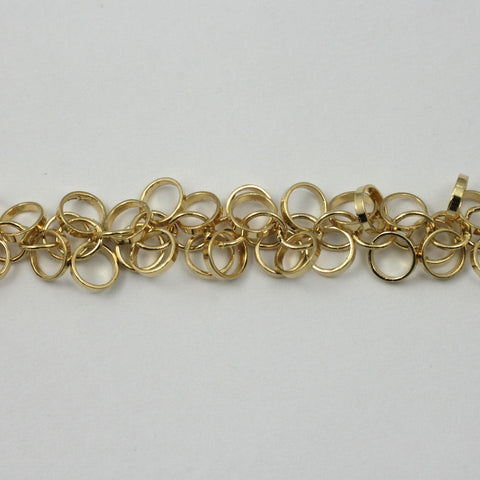 Bright Gold 5mm Dangle Links Chain CC171-General Bead