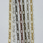 3mm & 6mm Oval Chain CC154-General Bead