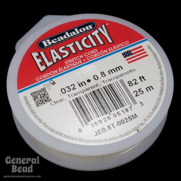 0.8mm Elasticity Stretch Cord 25 Meter Roll
