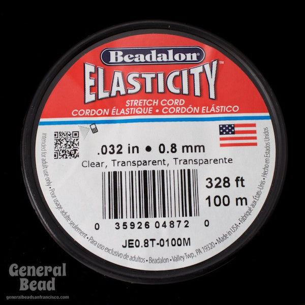 0.8mm Elasticity Stretch Cord 100 Meter Roll