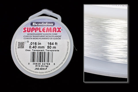 0.4mm Supplemax Monofilament 50 Meter Roll #CDK012-General Bead