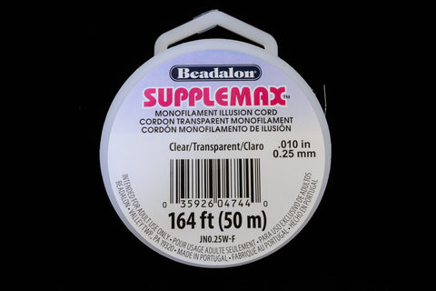 0.25mm Supplemax Monofilament -50 Meter (18 Spools, 108 Spools) #CDK017