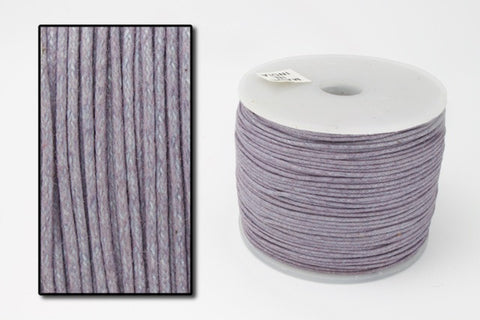 Dusky Lavender 1mm Cotton Cord #CDT014-General Bead