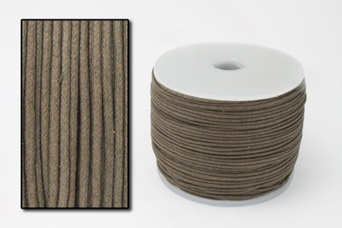 Brown 2mm Cotton Cord #CDT029-General Bead
