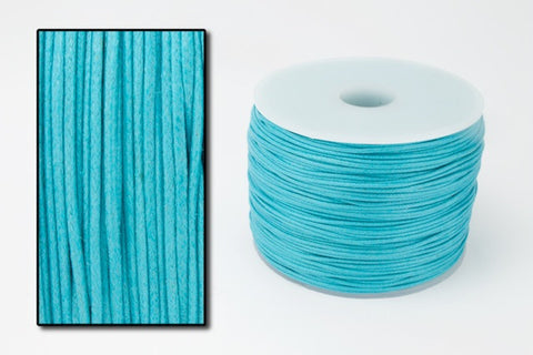 Turquoise .5mm Cotton Cord #CDT004-General Bead