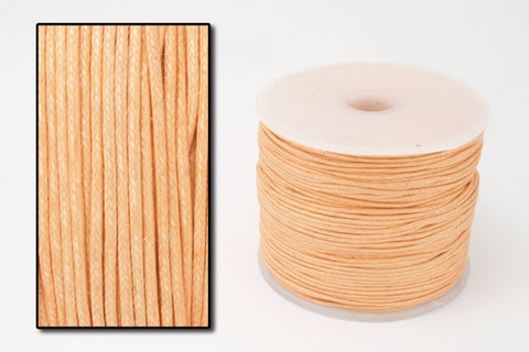 Peach 1mm Cotton Cord #CDT018-General Bead