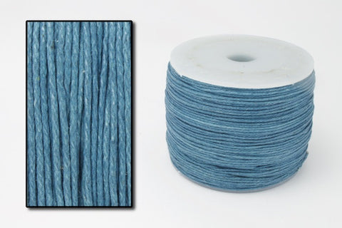 Blue .5mm Cotton Cord #CDT006-General Bead