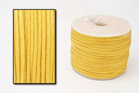 Marigold 2mm Cotton Cord #CDT033-General Bead