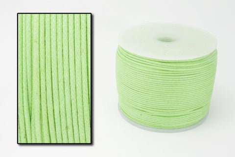 Lime Green .5mm Cotton Cord #CDT008-General Bead