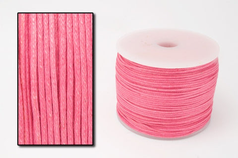 Fuchsia .5mm Cotton Cord #CDT009-General Bead