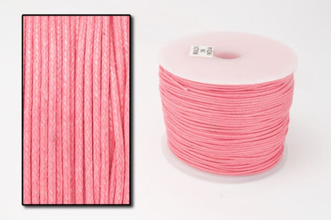 Pink 1mm Cotton Cord #CDT023-General Bead