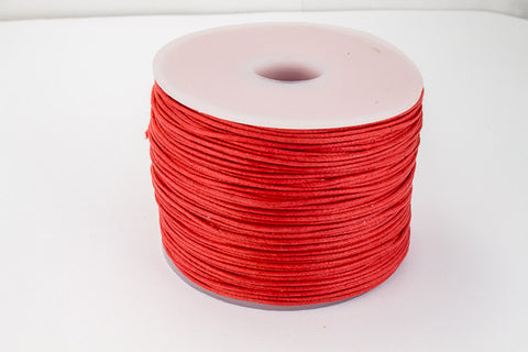 Red 1mm Cotton Cord #CDT024-General Bead