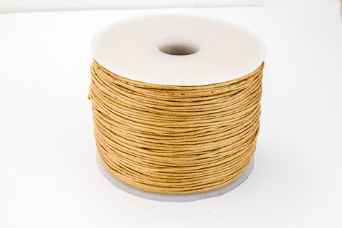 Natural .5mm Cotton Cord #CDT012-General Bead
