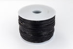 Black 2mm Cotton Cord #CDT039-General Bead